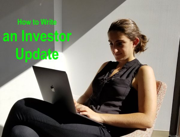 How to Write Investor Updates