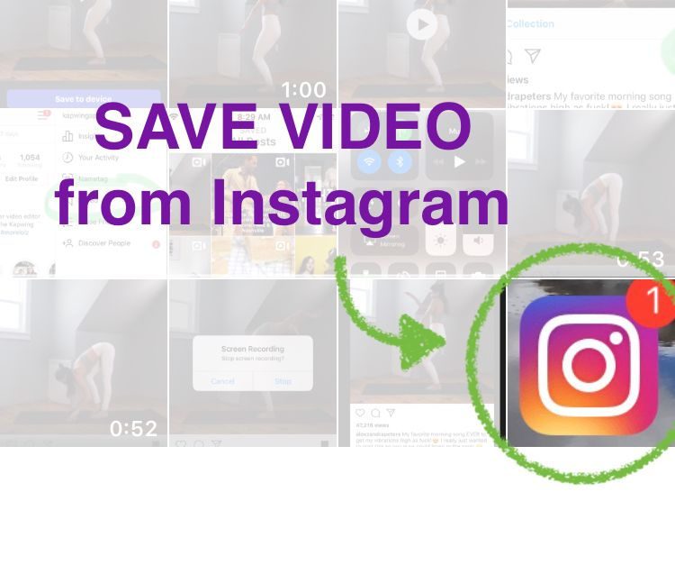 How to Save an Instagram Video