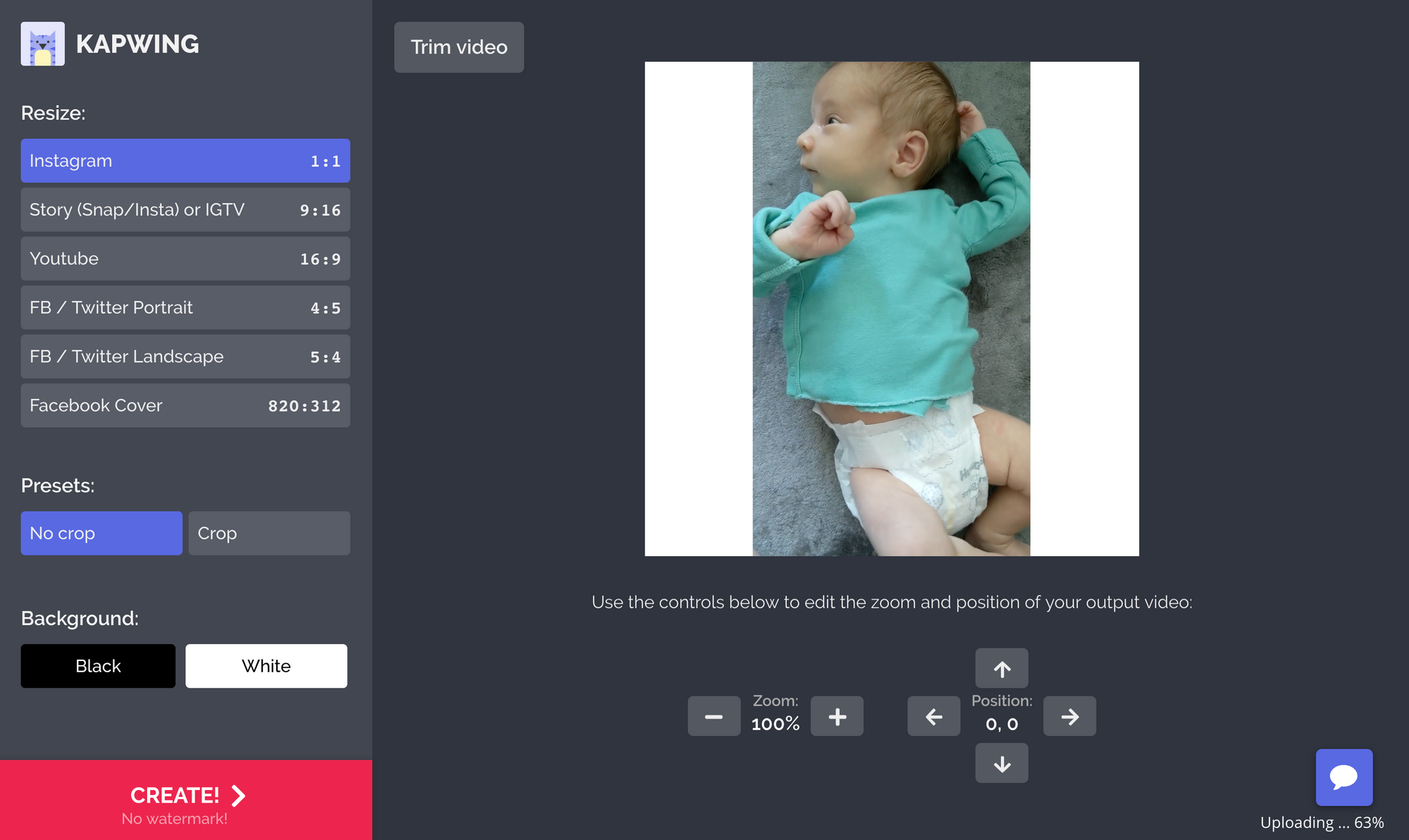 How to Post a Portrait Image or Video to Instagram Without Cropping