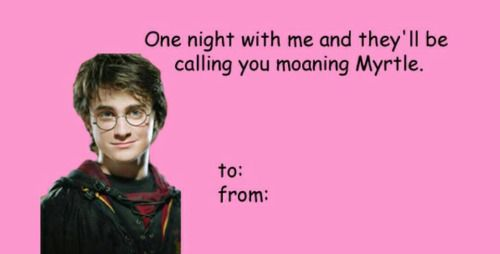 harry potter valentines meme