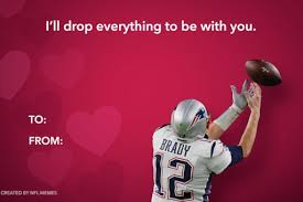 nfl tom brady valentines meme