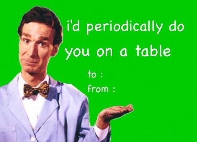 bill nye valentines meme