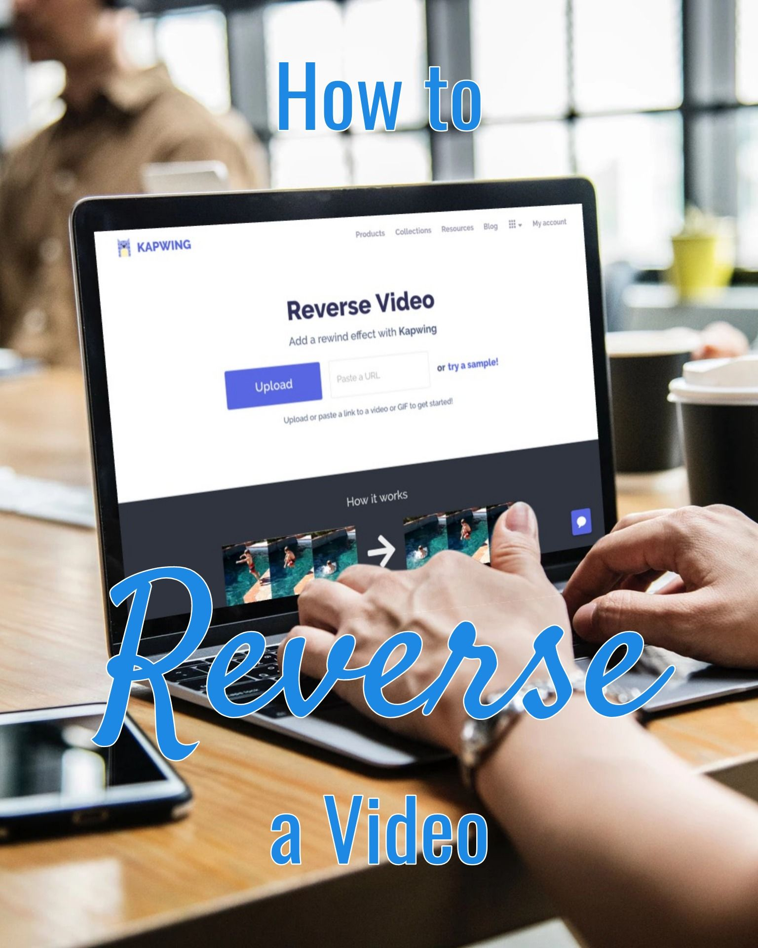 How to Revere a Video for Free Online