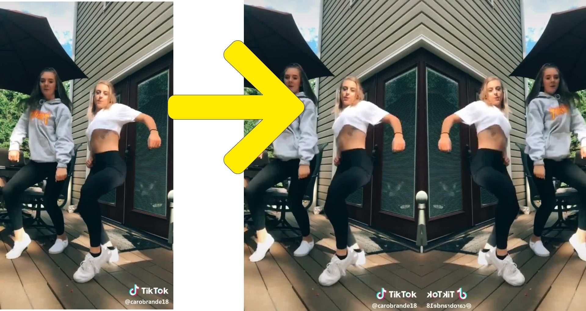 How To Get Symmetrical Challenge Face Mirror Filter Inverted Effect On Tiktok And Instagram Salu Network