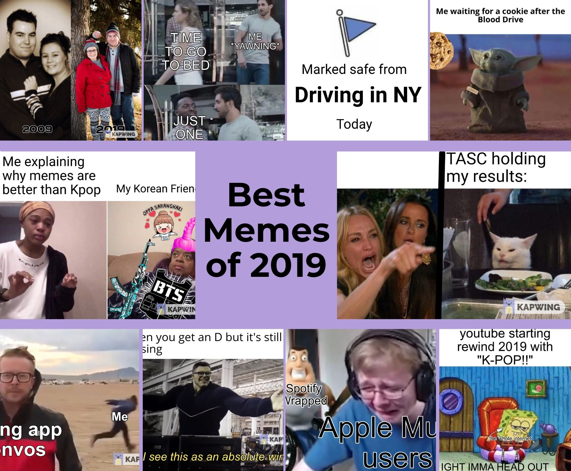Best Memes Of 2019 According To Kapwing
