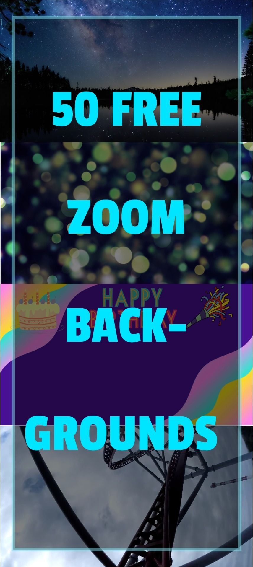 50 Free Zoom Backgrounds