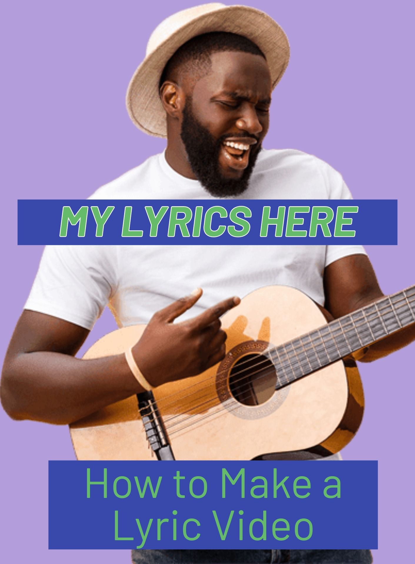 How to make a lyric video for free online