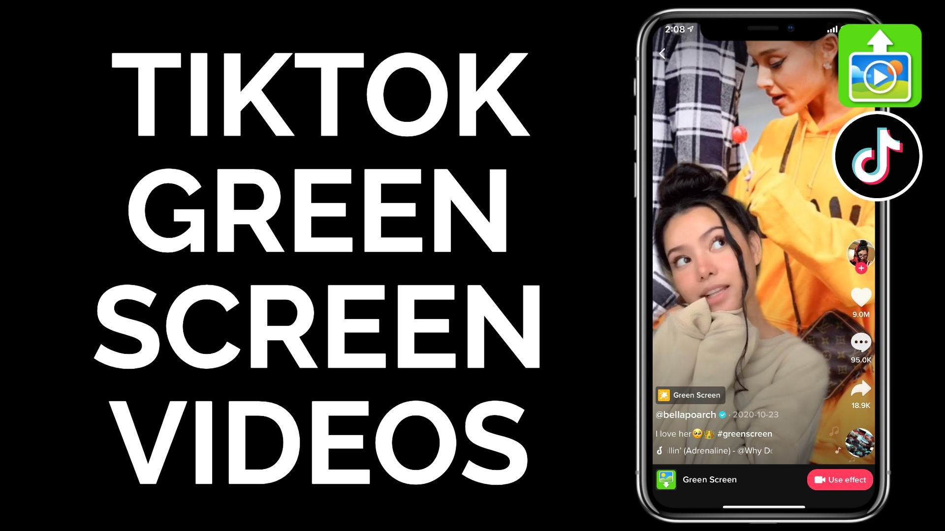How To Make Videos For The Tiktok Green Screen