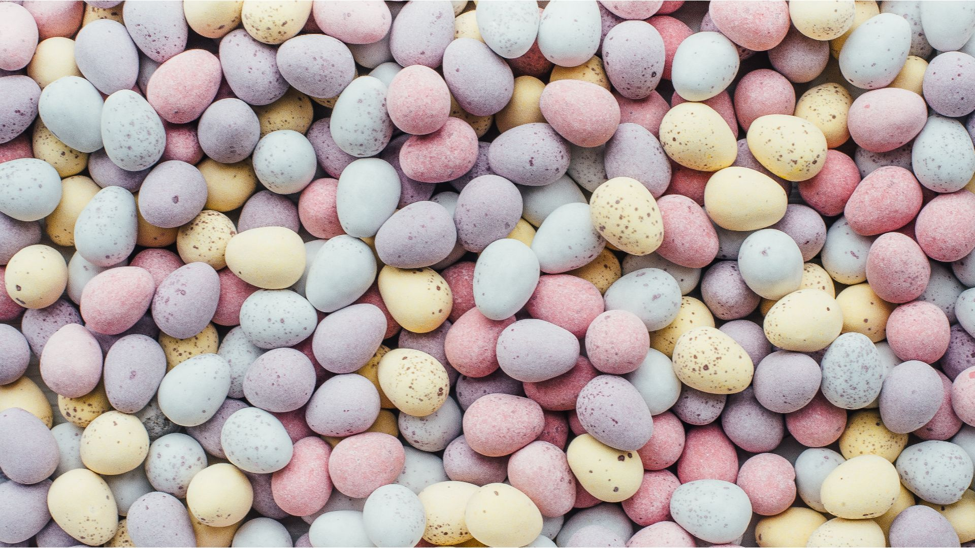 a wallpaper featuring pastel eggs for Easter