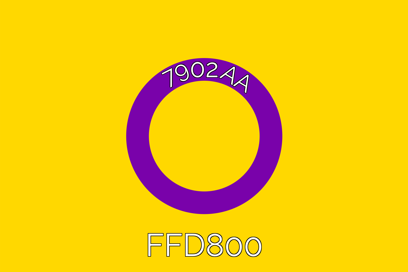 The intersex Pride flag.
