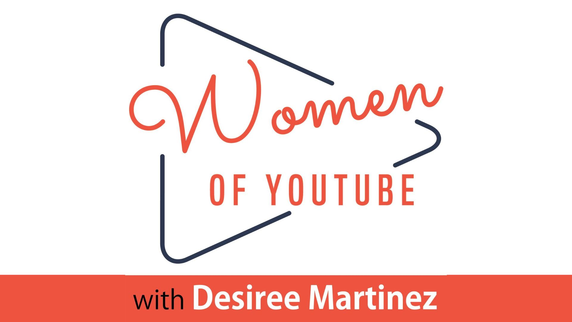 The cover art for the Women of YouTube podcast.