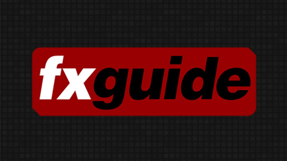 The cover art for fxguide, the creators of the fxpodcast.