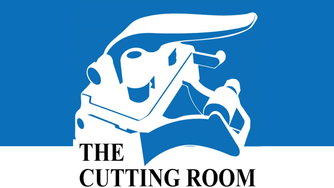 The cover art for the Cutting Room podcast.