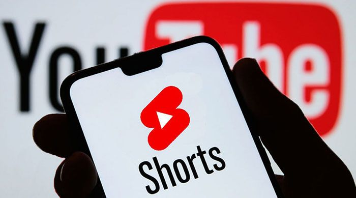 An image displaying the YouTube Shorts logo