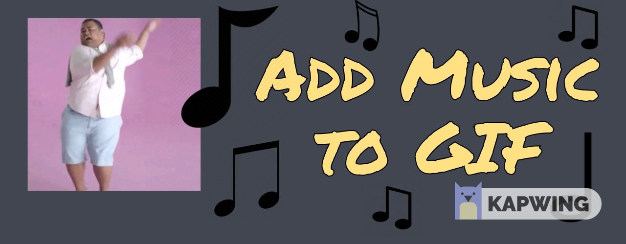 How to Add Music to GIF