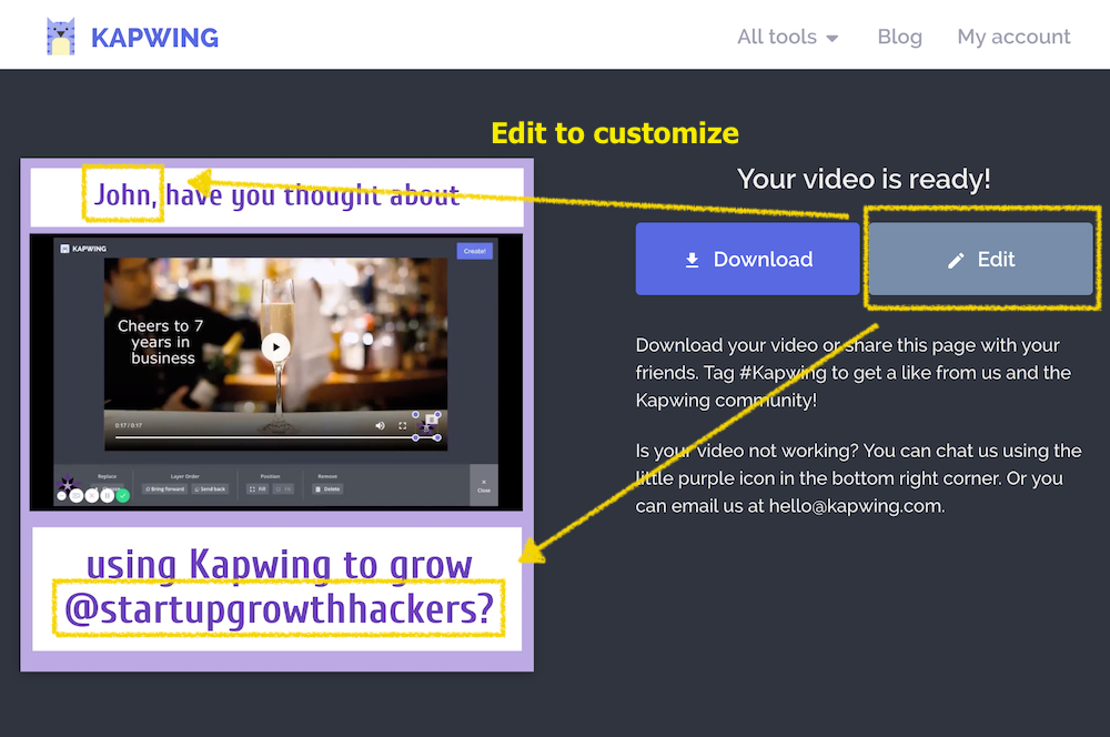 Add Text to Video - Kapwing