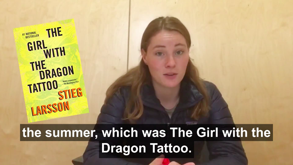 Film a Review of Your Favorite Summer Reading Book
