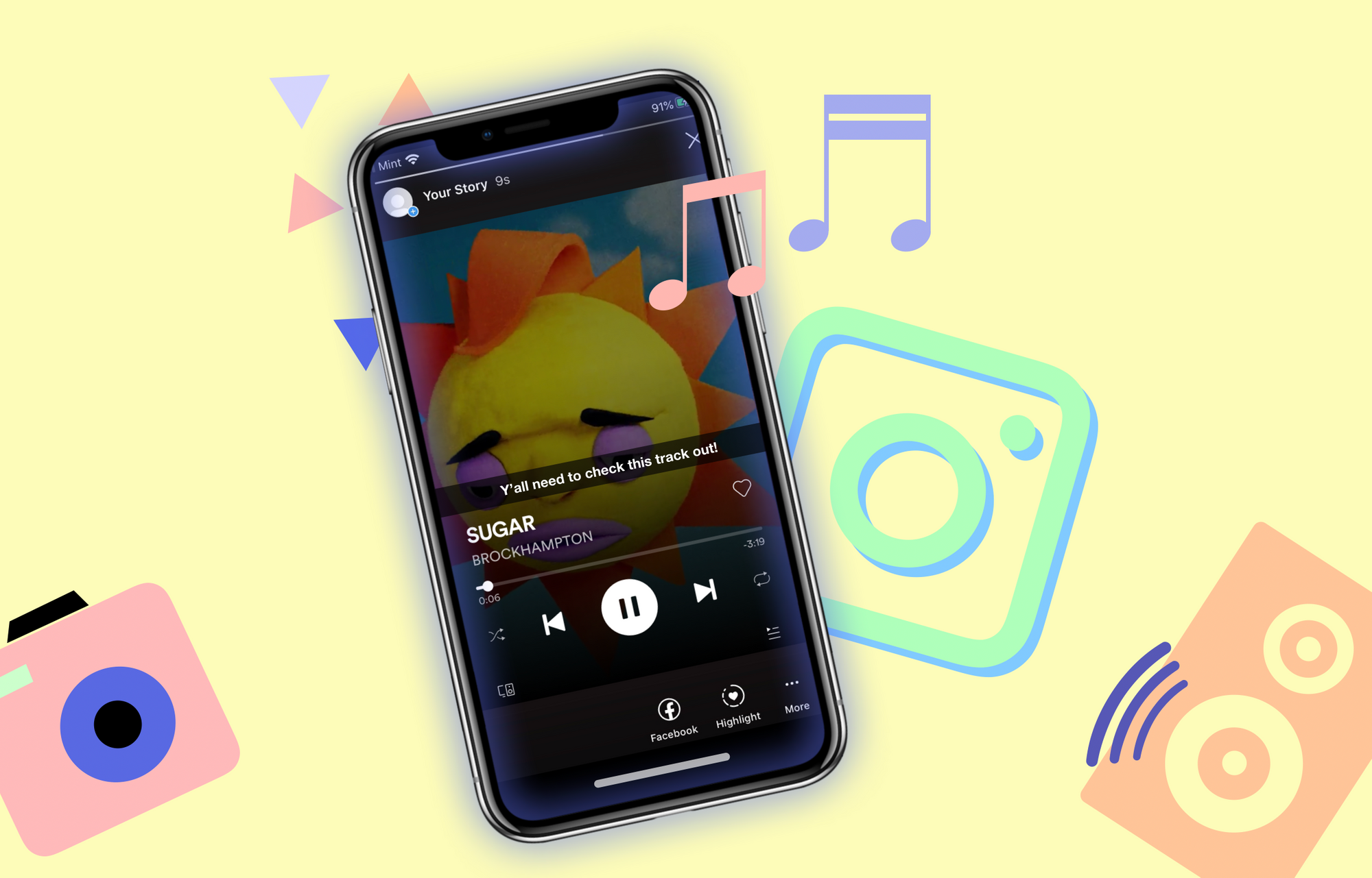 How to Add Any Music to Your Instagram Stories