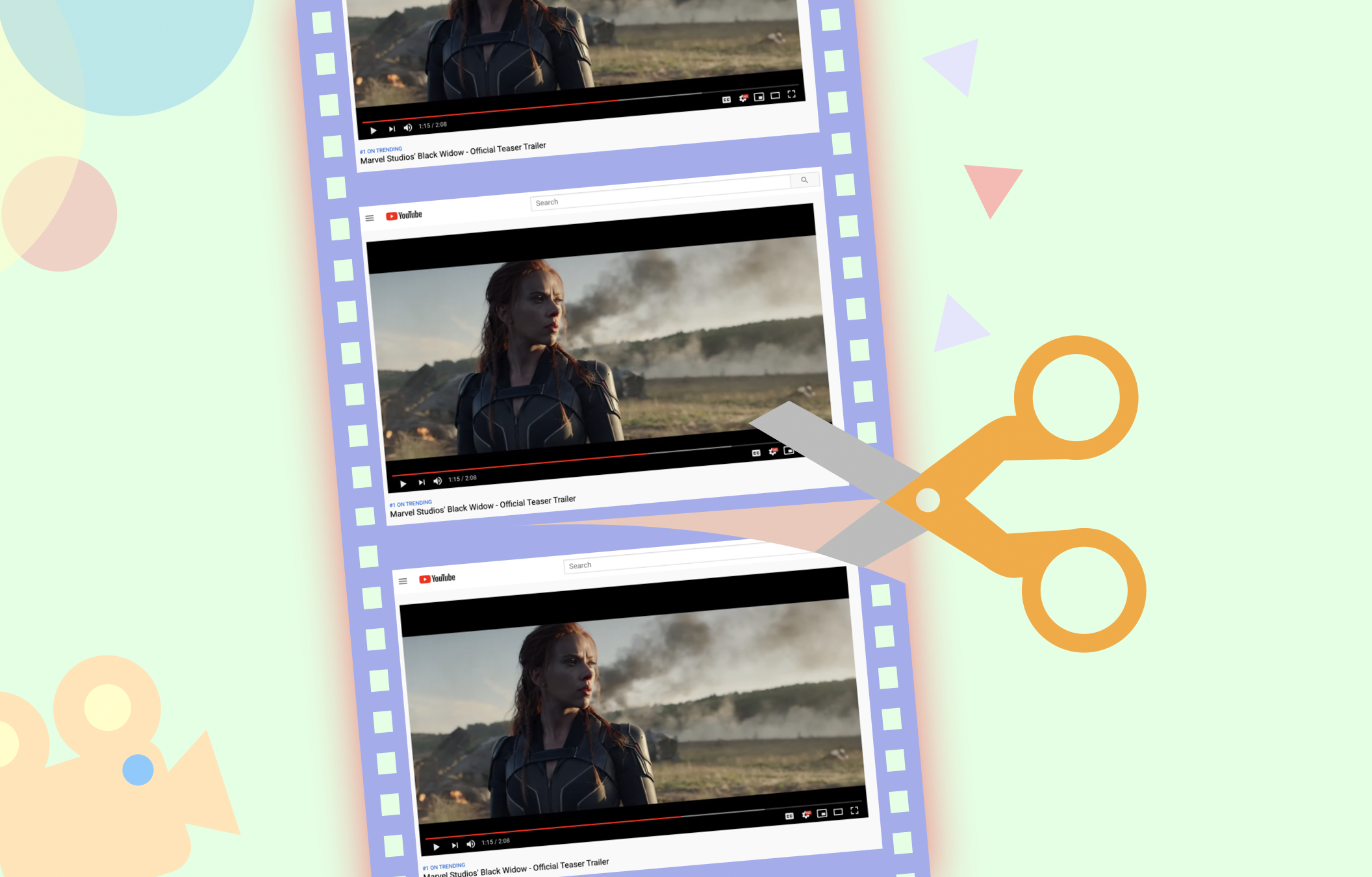 How to Split a Video into Two Parts