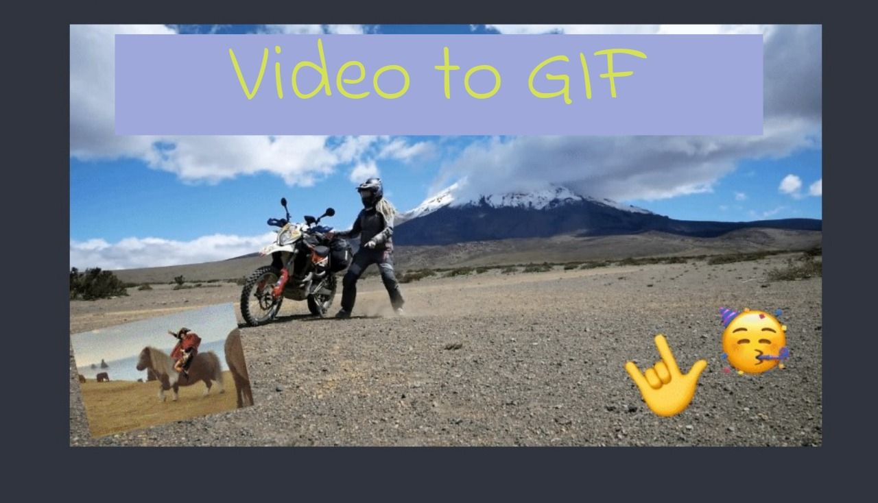 How to Create a GIF from Any Video or Photo