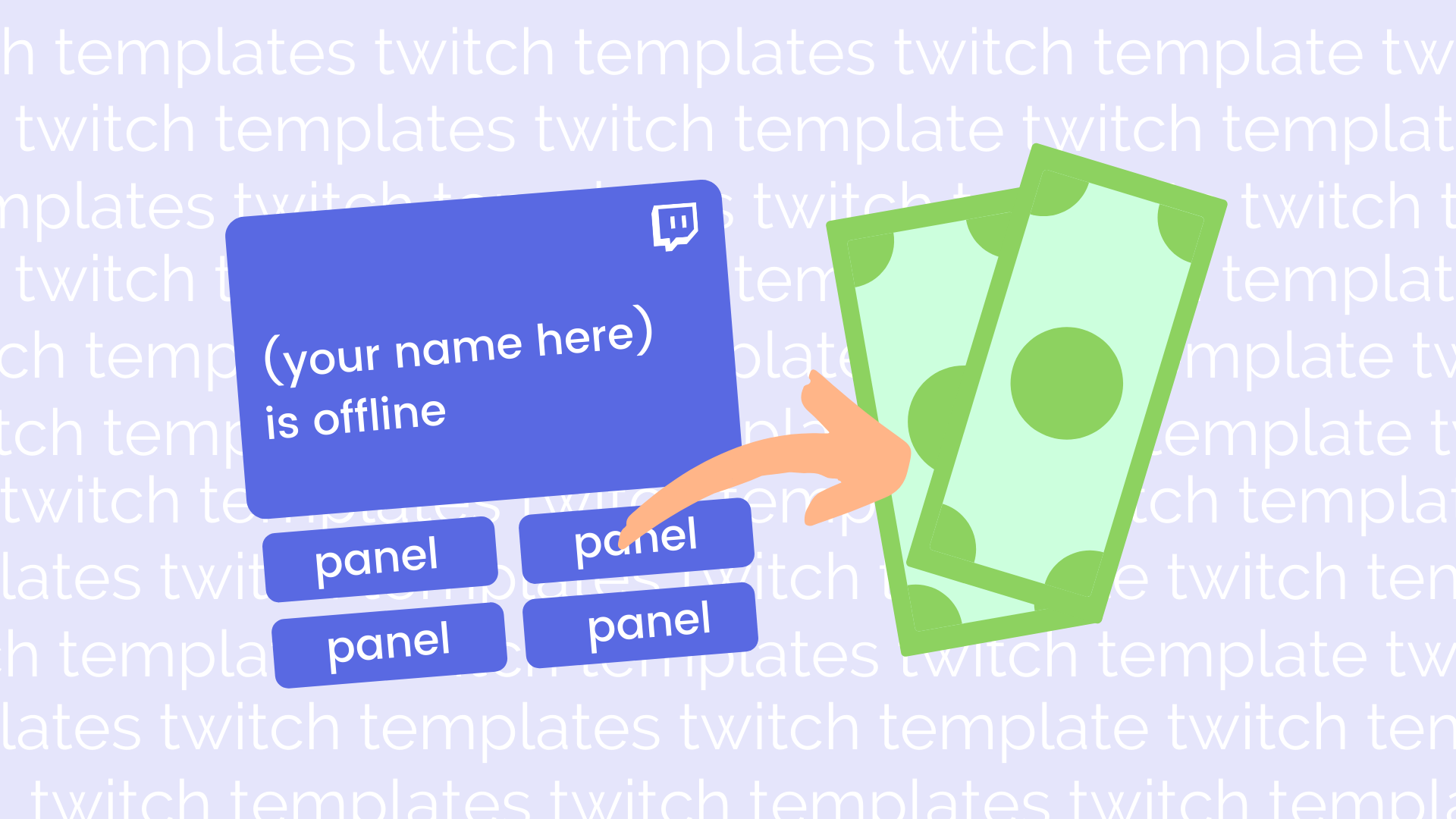 How to Make Money From Twitch Templates - Start Selling Today