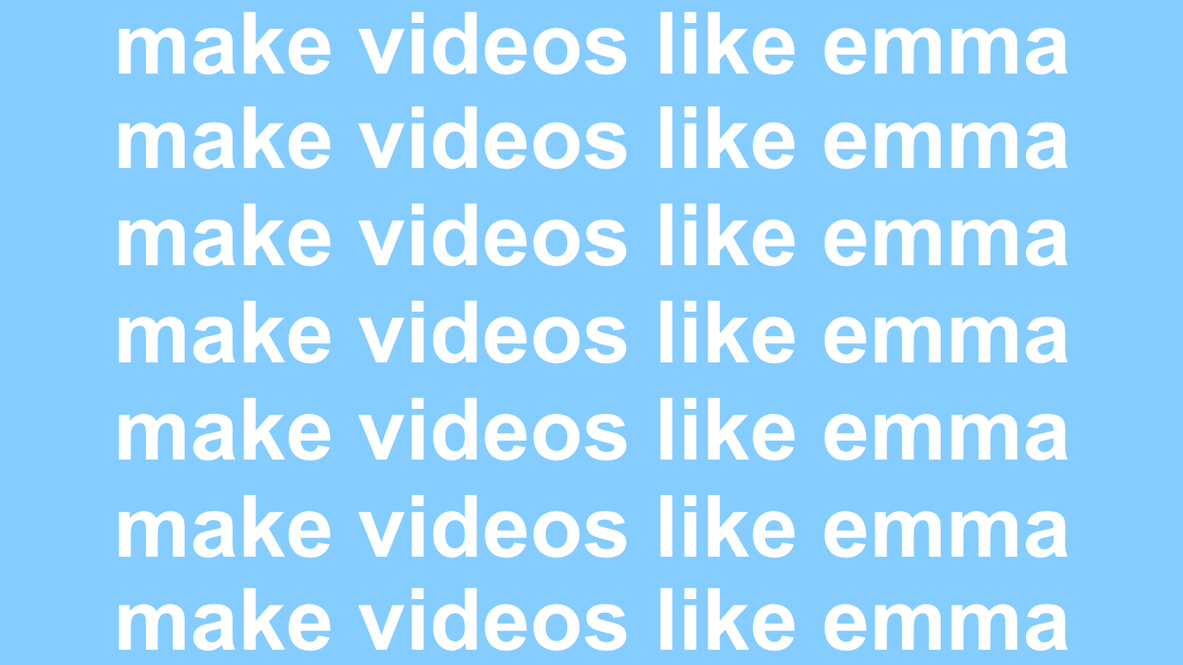 How to Make Videos Like Emma Chamberlain