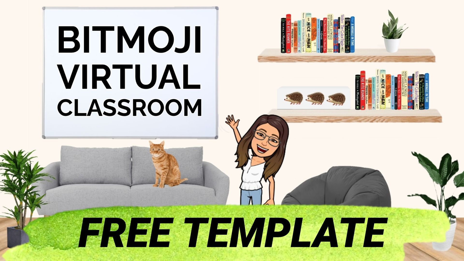 This Bitmoji Classroom Template Helps You Create Your Own Virtual Classroom