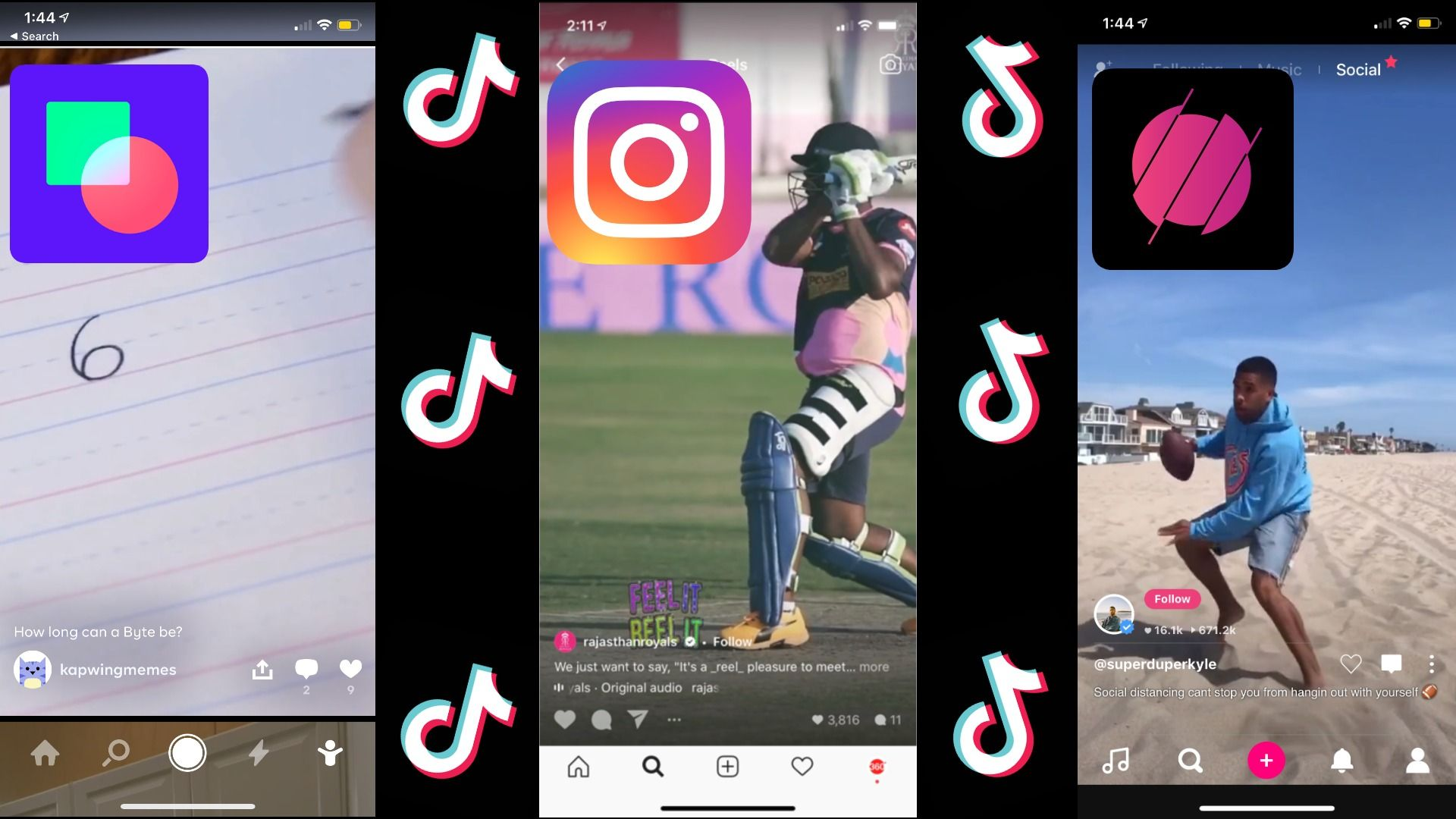How to Share TikTok Videos to Instagram Reels, Triller, and Byte With No Watermarks