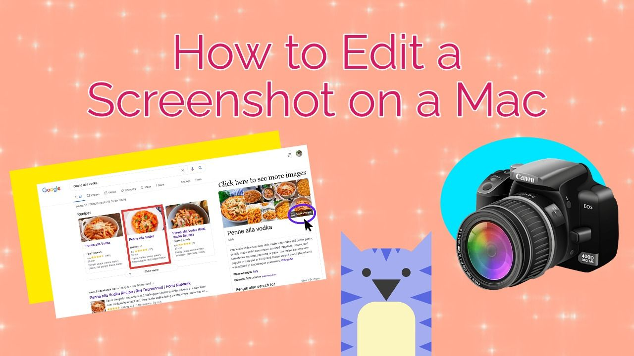 How to Edit a Screenshot on a Mac