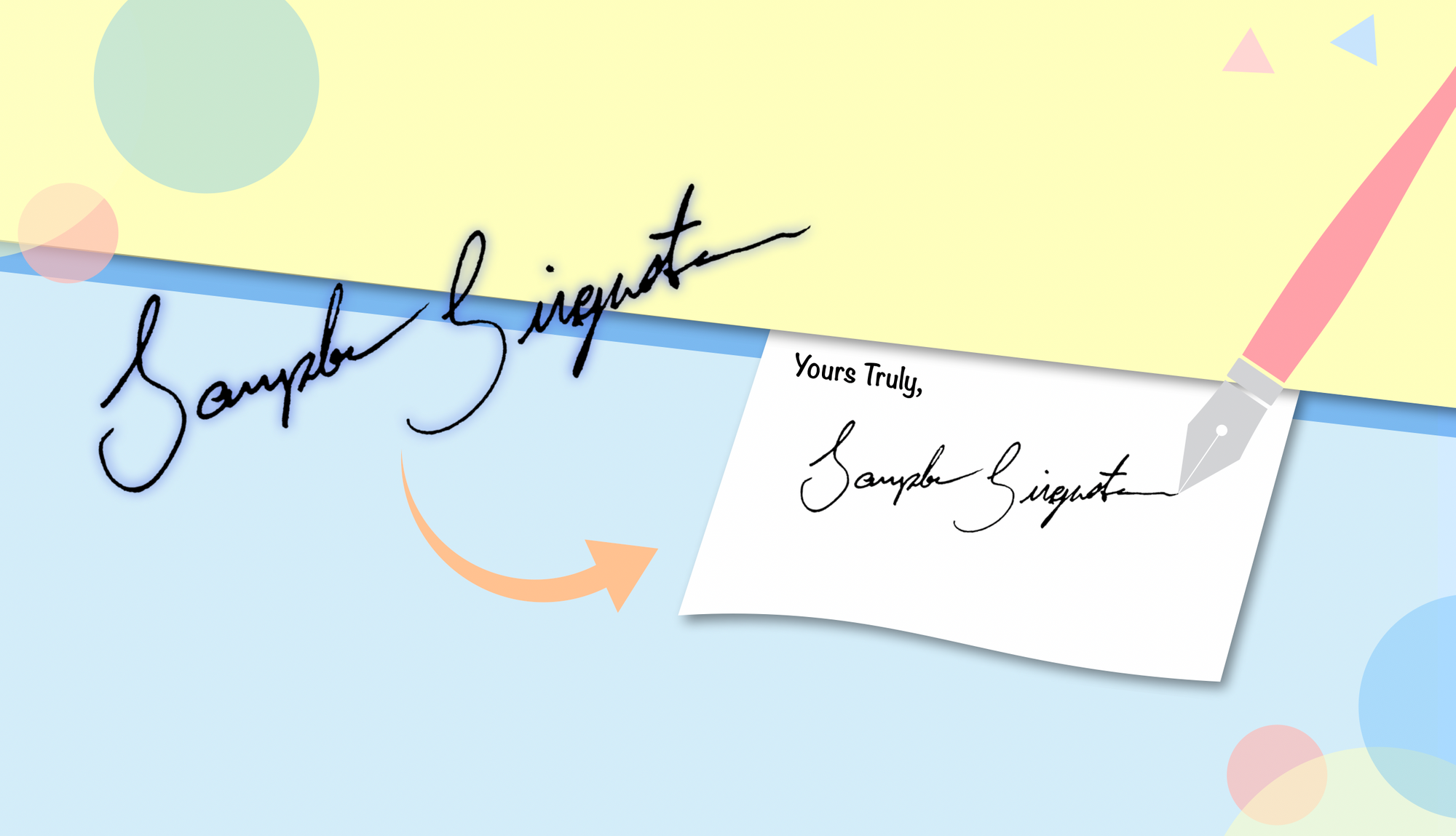 How to Add Your Signature to Word or Google Docs