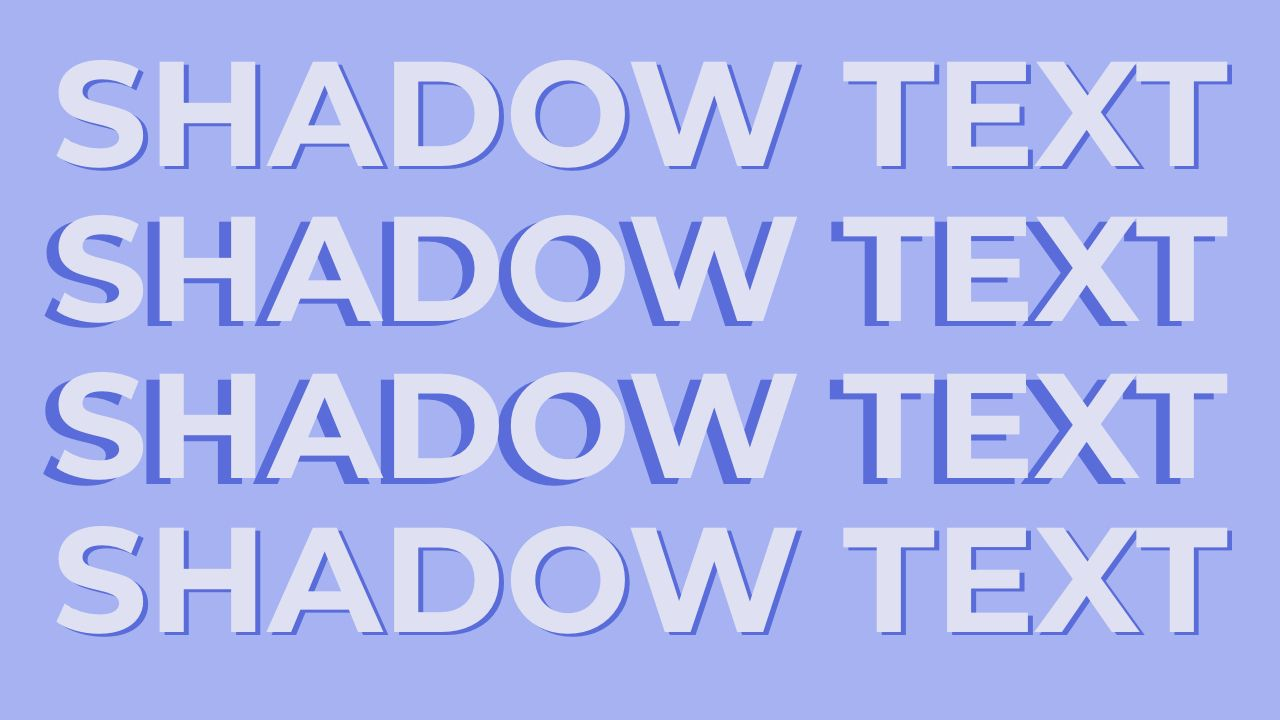 How to Add a Drop Shadow Effect to Text Online