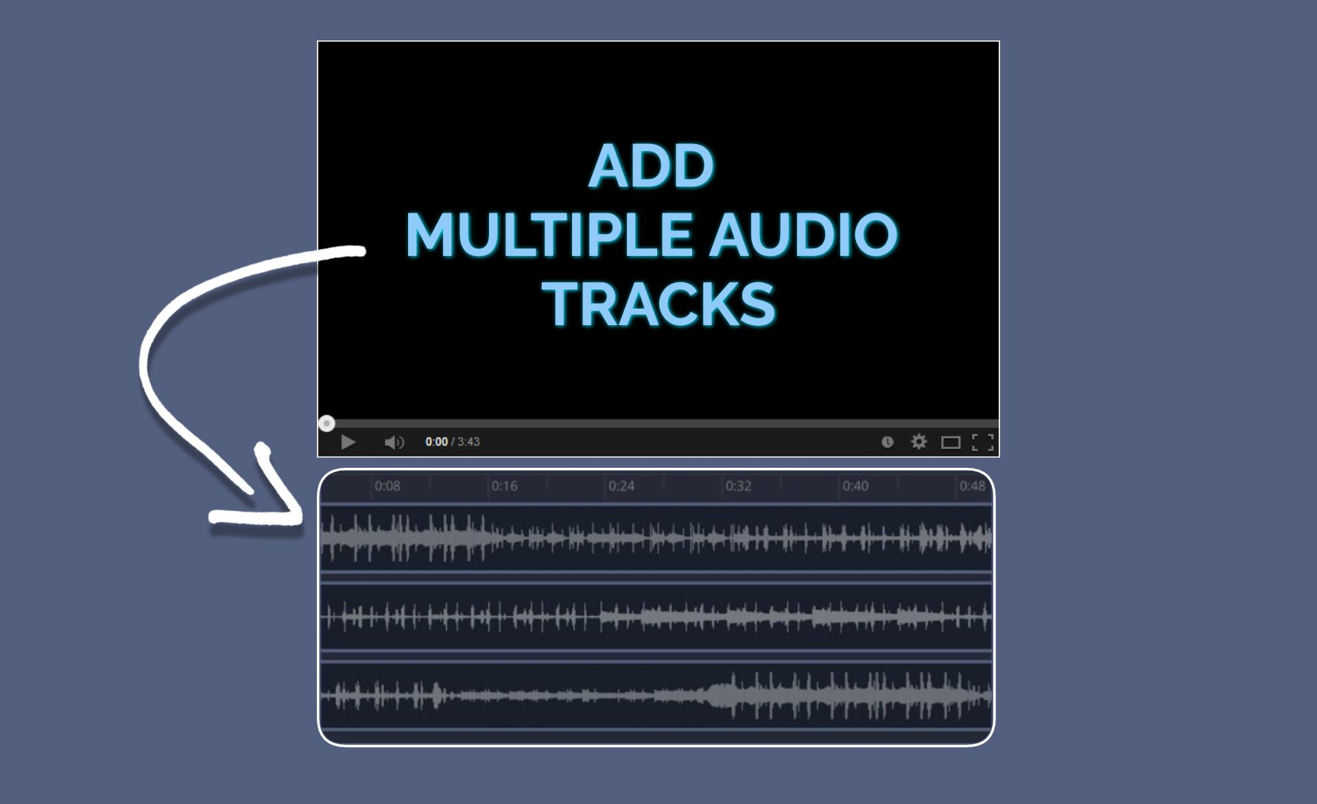 How to Add Multiple Audio Tracks to a Video Online