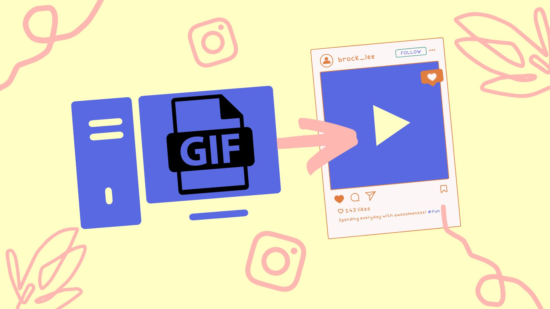 How to Post a GIF to Instagram or Snapchat