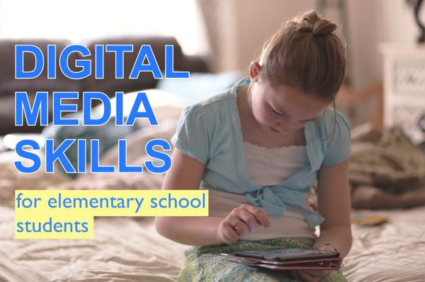 Teaching Digital Media Skills to Elementary School Students
