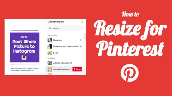 How To Resize Images For Pinterest