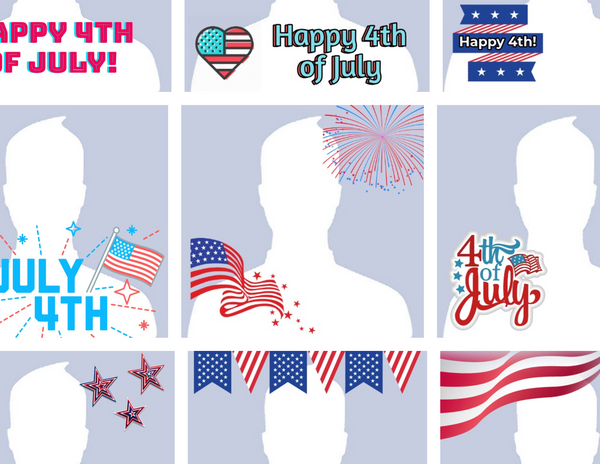 How to Make a 4th of July Profile Picture
