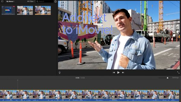 How to Add Text to iMovie for Free