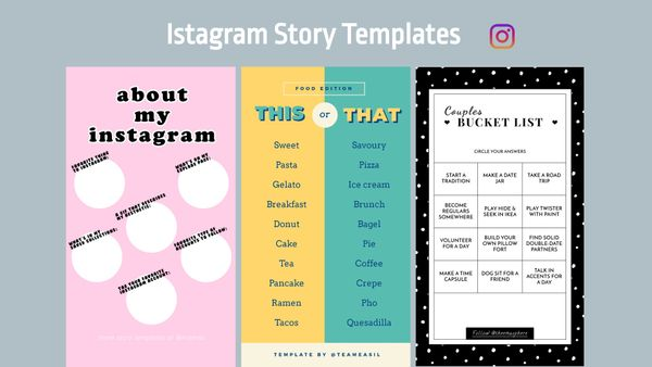 How to Make a Custom Instagram Story Templates