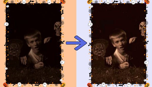 How to Edit Night Photos & Videos from Halloween