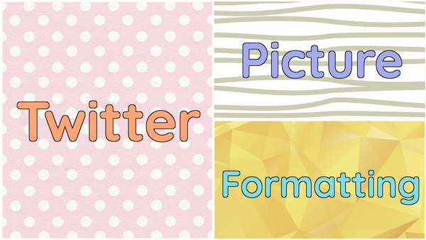 Formatting Photos for Twitter: Dimensions for every kind of post