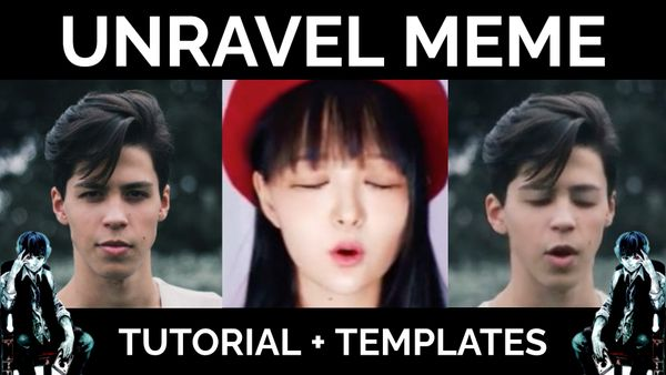 How to Make the Unravel Tokyo Ghoul Deepfake Meme (Templates Included)
