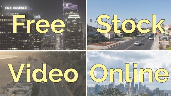 Free Stock Video: Where to Find It and How to Use It