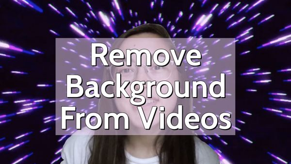 How to Remove the Background From a Video Online