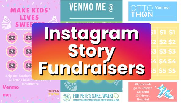 How to Host an Instagram Story Fundraiser