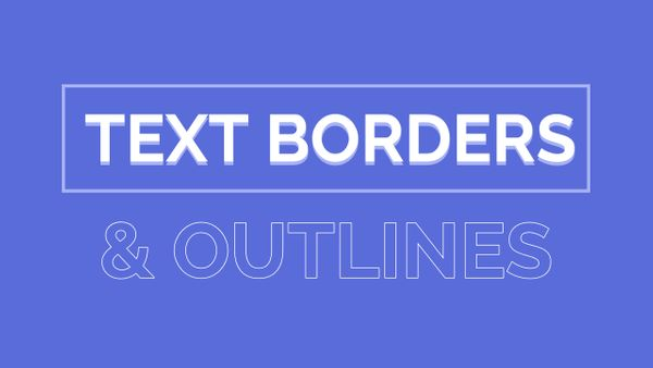 How to Add a Border or Outline to Text Online