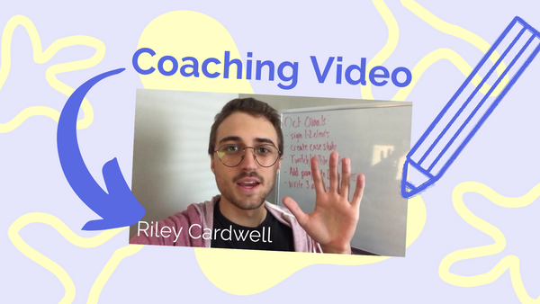 How to Make a Coaching Video - Start to Finish