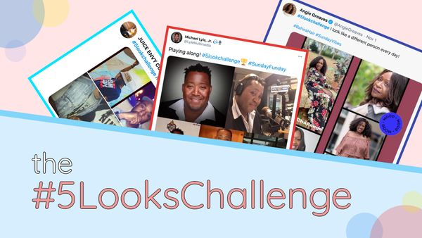 How to Do the 5 Looks Challenge on Instagram, Twitter, or Facebook