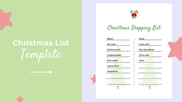 How to Create a Christmas List Online (Free Template)