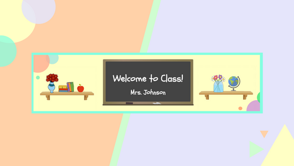 How to Make a Google Classroom Banner